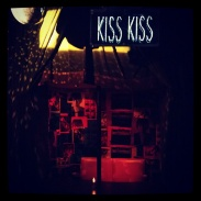 "The ""Kiss Kiss"" booth at the Drake Underground"