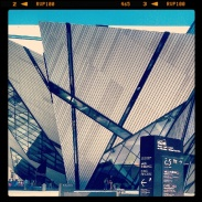 The exterior of the Royal Ontario Museum