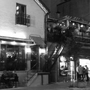 Trattoria Nervosa, a great little Italian restaurant, in Yorkville