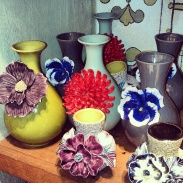Beautiful ceramic vases at Anthropologie