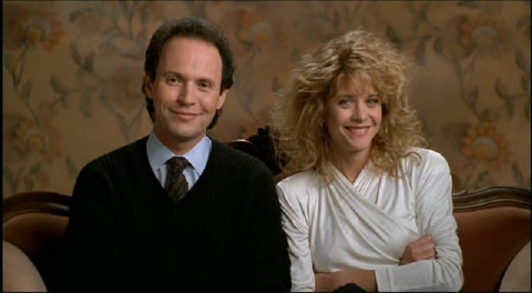 When Harry Met Sally - Harry and Sally couch scene
