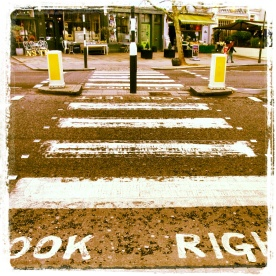 Crosswalk in Notting Hill