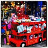 Display outside a store along Portobello Road