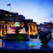 Inside Trafalgar Square