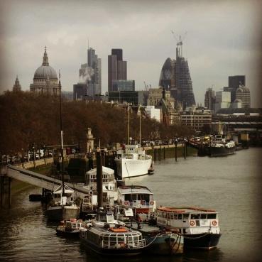 View from the Waterloo Bridge