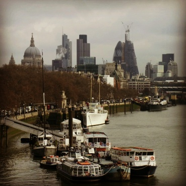 View from the Waterloo Bridge