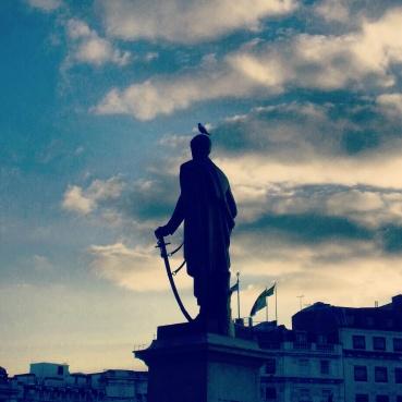 Statue in Trafalgar Square