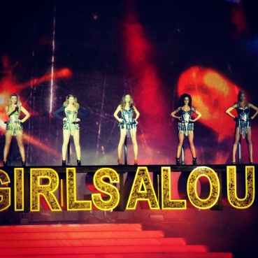 Girls Aloud concert on March 3rd - their last night out of three performing at the O2 arena