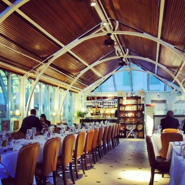 Brasserie Blanc, a restaurant in Covent Garden
