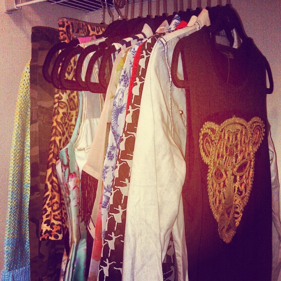 My new clothes from Primark. 7 tops, 6 dresses, a skirt, a sweater and a pair of pants for £181. Not too shabby!