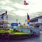 Kites and bikes at Fisherman's Wharf