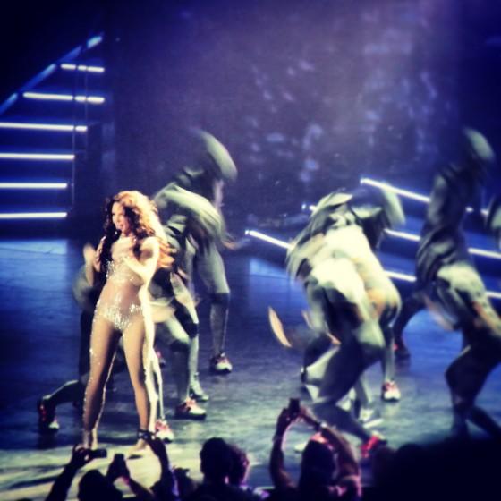 "Britney Spears during ""Work Bitch"""