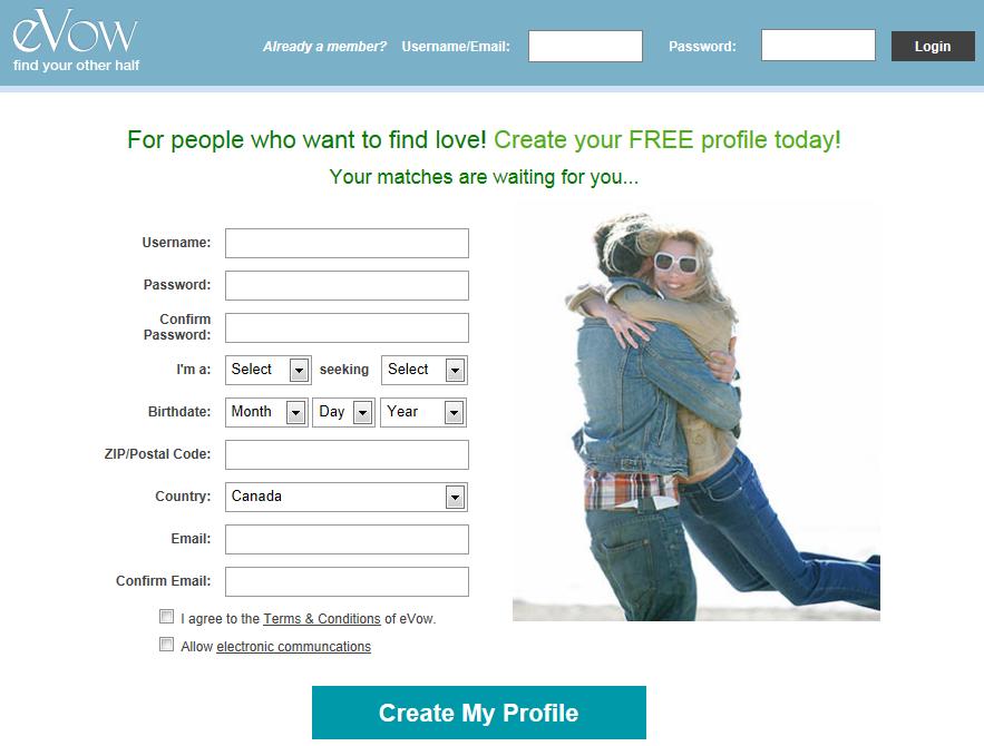 Evow dating website