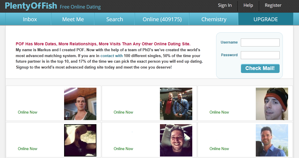 Pof free online dating service