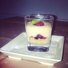 Liquid Cheese Cake Parfait