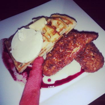 The Chicken and Waffles