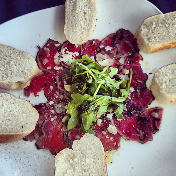 The Beef Tenderloin Carpaccio