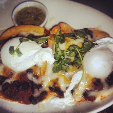 The huevos rancheros