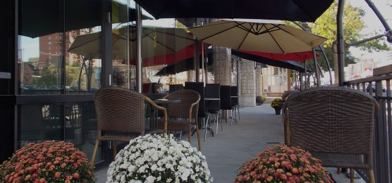The patio space. Photo Credit: Hoang Long website