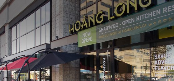 The exterior of the restaurant. Photo Credit: Hoang Long website
