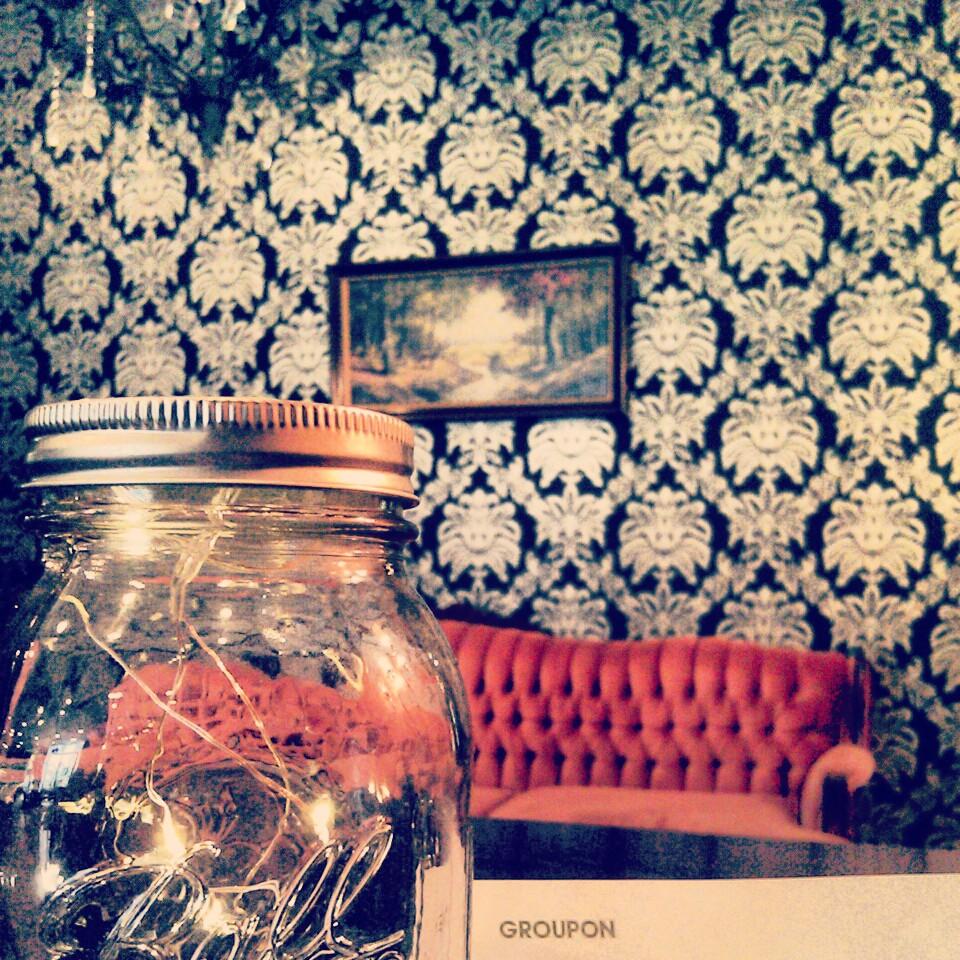 Crystal Chandelier Edmonton: Edmonton Restaurant Review: Café Caribé