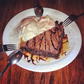 Double Chocolate Fudge Brownie