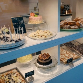 The bakery display case!