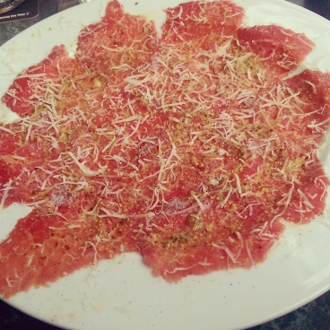 Jack's Grill Beef Carpaccio