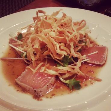 Albacore sashimi at Sushi Roku.