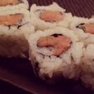Spicy tuna maki at Sushi Roku.
