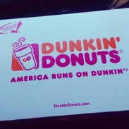 Dunkin' Donuts stop on the way to Red Rock Canyon.