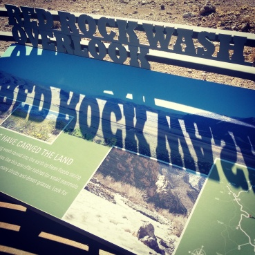 Displays at the Red Rock Canyon Visitor Center.