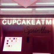 The Cupcake ATM machine at Sprinkles!