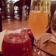 The Hannibal and La Strada cocktails at Giada.