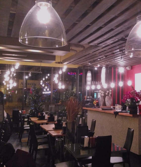The interior of the restaurant on 124 Street. Photo courtesy of Delicious Pho.