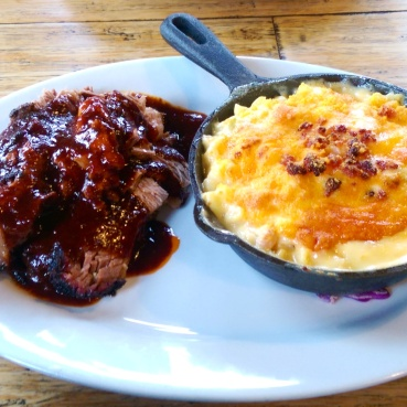 My Mac & Brisket at Sloppy Hoggs. So good!