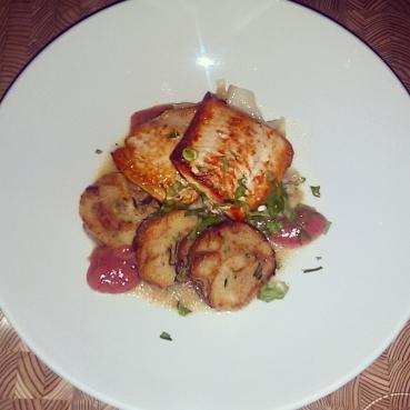 My friend's fish dish.