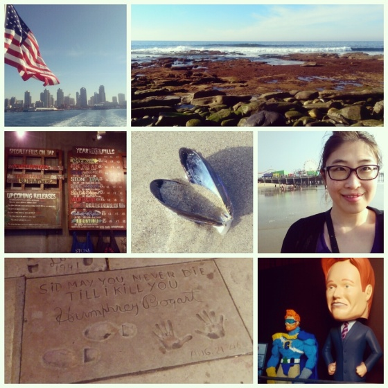 A photo collage of some memorable moments on this Cali trip!