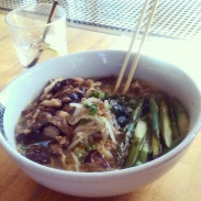 Underbelly's vegetable ramen
