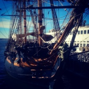 Another view of the tall ship.