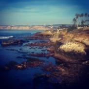 The coastline