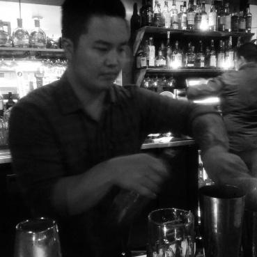 Simon the bartender!