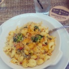 The tree hugger mac 'n cheese at Karl Strauss.