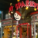 I just liked this Sparky's sign at Universal CityWalk.
