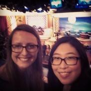 Selfie on the set!