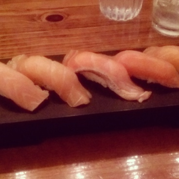 Salmon Special - this was amazing!! Probably the BEST sushi I have ever eaten!
