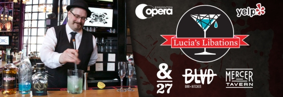 Lucia's Libations. Image courtesy of Edmonton Opera.