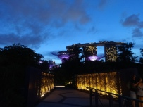 Heading back towards Marina Bay Sands after our trek through the Gardens at the Bay.