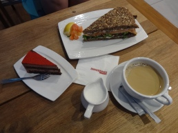 Lunch at Swissbake