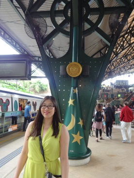 Just arrived at Hong Kong Disneyland